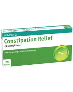 Numark Constipation Relief Tablets 20