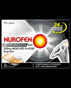Nurofen Medicated Plaster 200mg 2 Pack