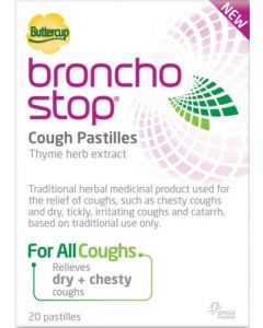 Buttercup BronchoStop Cough Pastilles 20