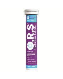 O.R.S Hydration Tablets Blackcurrant 24