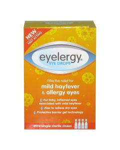 Eyelergy Eye Drops 20 x Single Sterile Doses