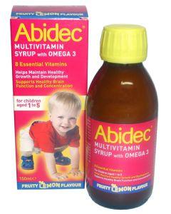 Abidec Syrup With Omega 3 & Multivitamins 150ml