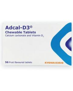 Adcal-D3 Chewable Tablets 56 Fruit