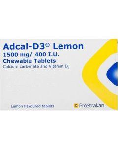 Adcal-D3 Chewable Tablets 56 Lemon