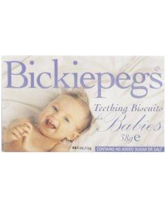 Bickiepegs Teething Biscuits 38g