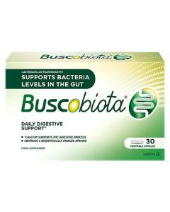 Buscobiota Daily Digestive Support Capsules 30