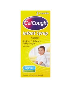 Calcough Infant Syrup Apple Flavour 125ml