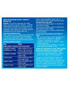 Calprofen Suspension Ibuprofen Sachets 12