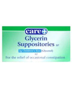 Glycerin Suppositories Children's 2g 12