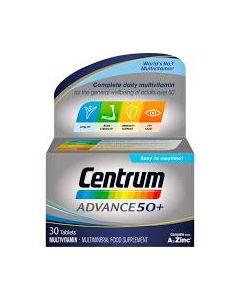 Centrum Advance 50+ Tablets 30