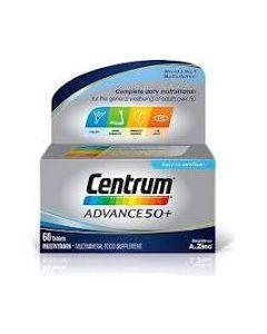 Centrum Advance 50+ Tablets 60