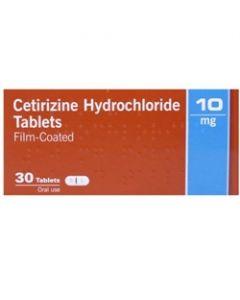 Cetirizine 10mg Tablets  30