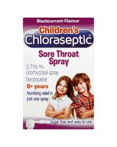 Children's Chloraseptic Blackcurrant Throat Spray 15ml