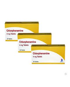 Chlorphenamine 4mg tablets - 84 tablets
