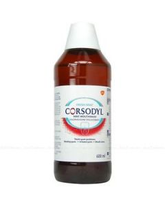 Corsodyl Mouthwash Mint 600ml