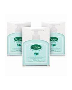 Dermol Wash 200ml Triple Pack