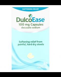 Dulcoease Soft Gel Capsules 30