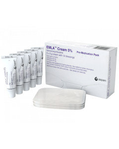 EMLA Cream 5% With 12Dressings - 5 x 5g