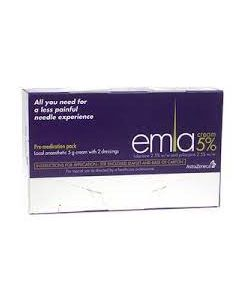 Emla Numbing Cream 5% 5g With Two Dressings