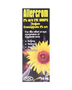 Sodium Cromoglicate Allergy Eye Drops 10ml