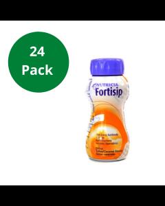 Fortisip Toffee Caramel High Energy Milkshake Supplement 200ml Bottle - 24 Pack