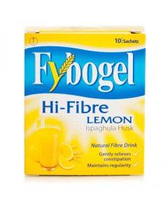 Fybogel Hi-fibre Lemon Sachets 10