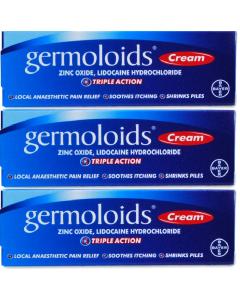 Germoloids Cream 3 x 55g
