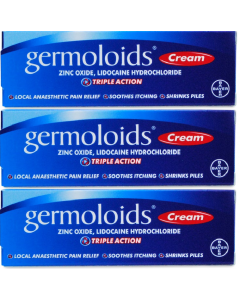 Germoloids Cream 3x25g