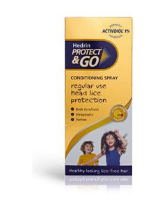 Triple pack Hedrin Protect & Go Conditioning Spray 200ml
