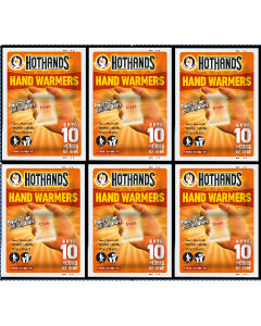 Hot Hands Hand Warmers - 6 Pairs