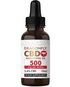 CBD Dragonfly Cannabidiol Oil 500mg 5.6%  10ml