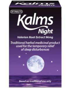 Kalms Night Herbal Tablets 50