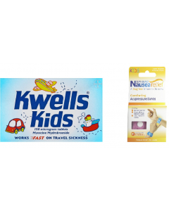 Kwells For Kids Travel Pack With Sea-Band