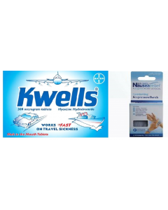 Kwells Travel Pack With Sea-Band