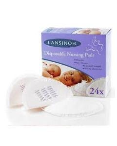 Lansinoh Disposable Nursing Pads 24