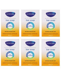 Cuticura Mildly Medicated Bar Soap 100g - 6 Pack