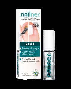 Nailner Fungal Nail Brush 2 in 1 5ml