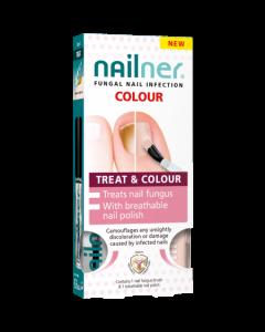Nailner Treat & Colour Brush 2 x 5ml
