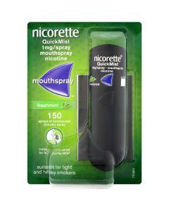 Nicorette QuickMist 1mg/Spray Mouthspray  Freshmint 1 x 150 Sprays