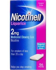 Nicotinell Gum Liquorice 2mg 96