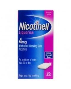 Nicotinell Gum Liquorice 4mg 96