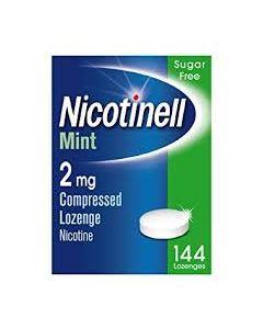 Nicotinell Lozenge Mint 2mg 144
