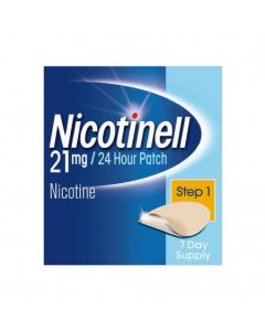 Nicotinell 21mg/24 Hour Patch Step 1 Patch TTS 30 x 7