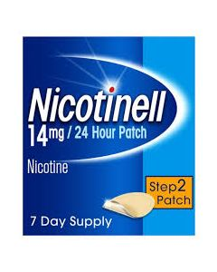Nicotinell 14mg/24 Hour Patch Step 2 Patch TTS 20 x 7
