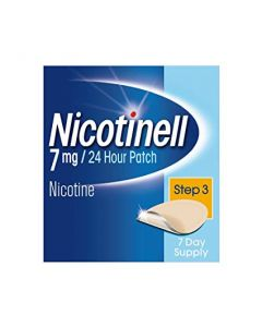 Nicotinell 7mg/24 Hour Patch Step 3 Patch TTS 10 x 7