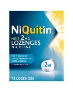 NiQuitin Mint Lozenges 2mg 72
