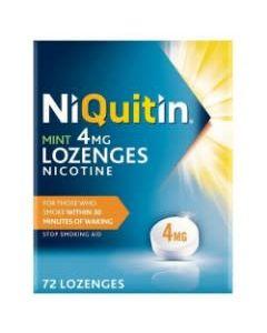 NiQuitin Mint Lozenges 4mg 72