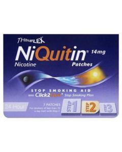 NiQuitin CQ 24 Hour Original Patches - Step 2 14mg x 7