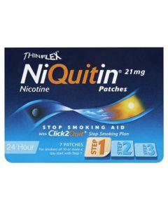 NiQuitin CQ 24 Hour Original Patches - Step 1 21mg x 7