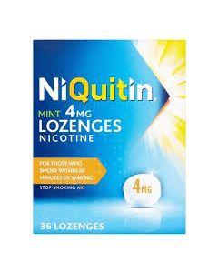 NiQuitin Mint Lozenges 4mg 36